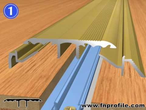 FN multi4function - Das multifunktionelle Bodenprofil - YouTube - laminat verlegen tur