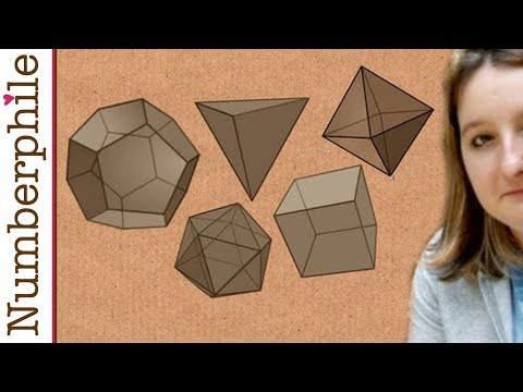 5 Platonic Solids - Numberphile