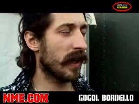 NME Video: Gogol Bordello @ Reading Festival 2007