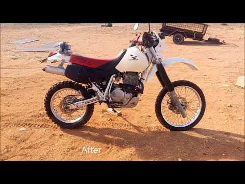 Honda XR 600R noisy timing chain and fixed