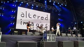 Altered Images live at Lets Rock the North East