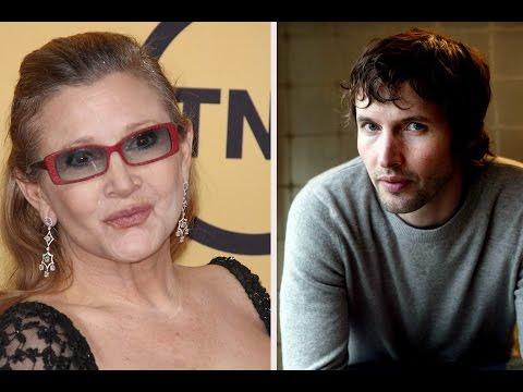 'Carrie Fisher Redde James Blunt'