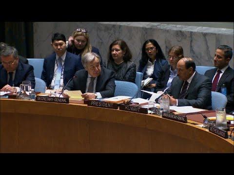 غوتيريش يصف الوضع في الغوطة الشرقية بانه