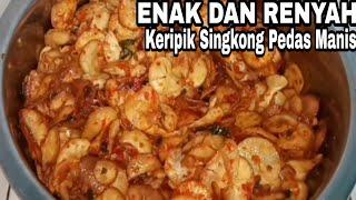 Download CARA MEMBUAT KERIPIK SINGKONG PEDAS MANIS DAN RENYAH