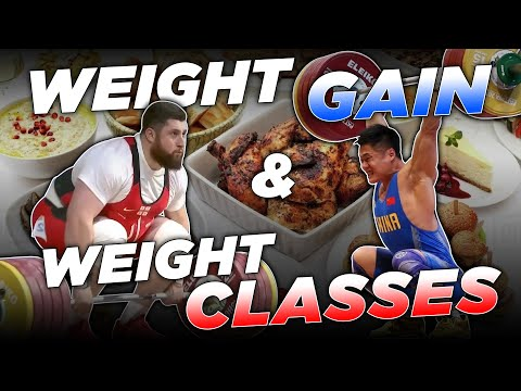 Bodyweight for Weightlifting Part 2 | Gaining Weight & Weight Classes