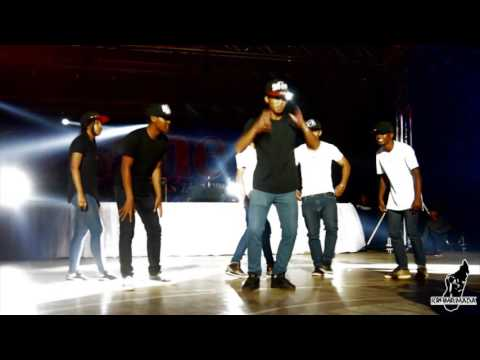 KRUMP MADA showcase @ SKY ONE TV Madagascar inauguration