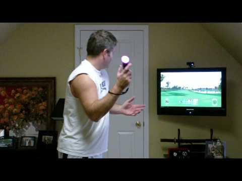 Tiger Woods PGA Tour 12 The Masters PS3 Move Gameplay Review