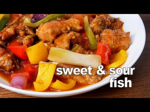 Sweet And Sour Fish Recipe | Fried Fish Fillet With Sweet & Sour Sauce | Fish Starters| Fish Recipes