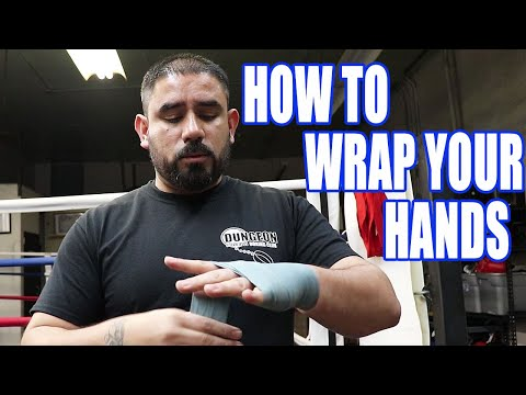 How To Wrap Your Hands For Boxing 2019