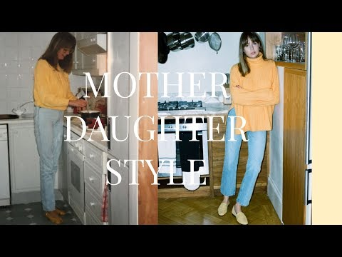 Mother/Daughter Style | Styling My Mum | AD