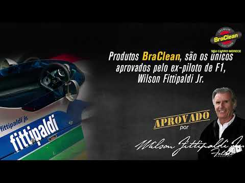 Assista: Braclean - Entrevista Wilson Fittipaldi Jr