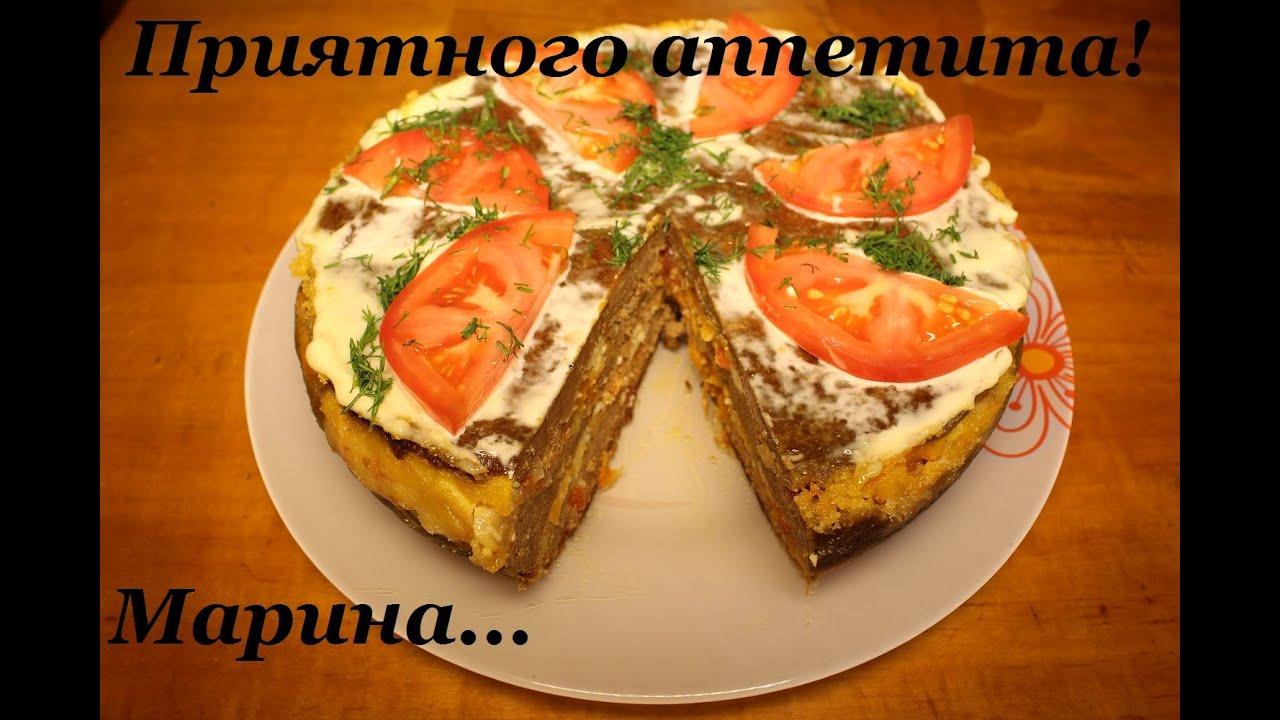 рецепт запеканки из печени