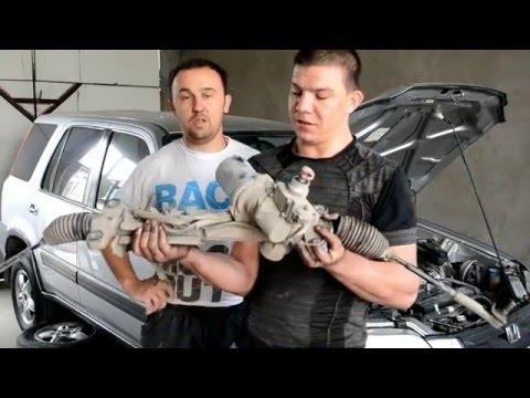 Honda CR-V 2007 год.  Устраняем стук в ЭЛЕКТРИЧЕСКОЙ РУЛЕВОЙ РЕЙКЕ