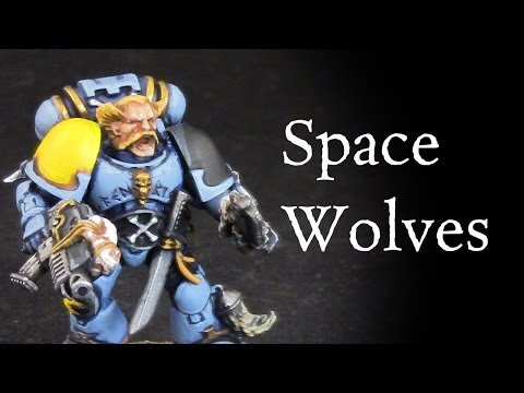 How to paint Space Wolves Grey Hunter Space Marine