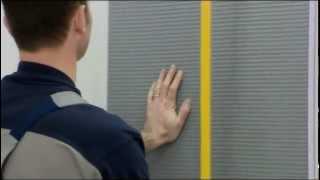 Wand- und Bodenverkleidung mit JACKOBOARD (Anwendungsfilm deutsch)