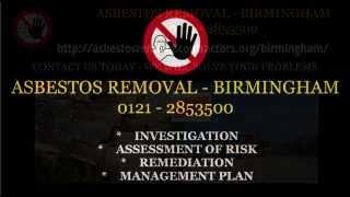 Asbestos Removal Contractors Birmingham 0121 2853500 | Asbestos Survey Birmingham