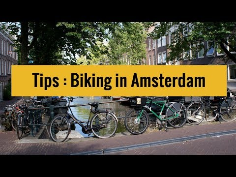Tips for riding a bike in Amsterdam