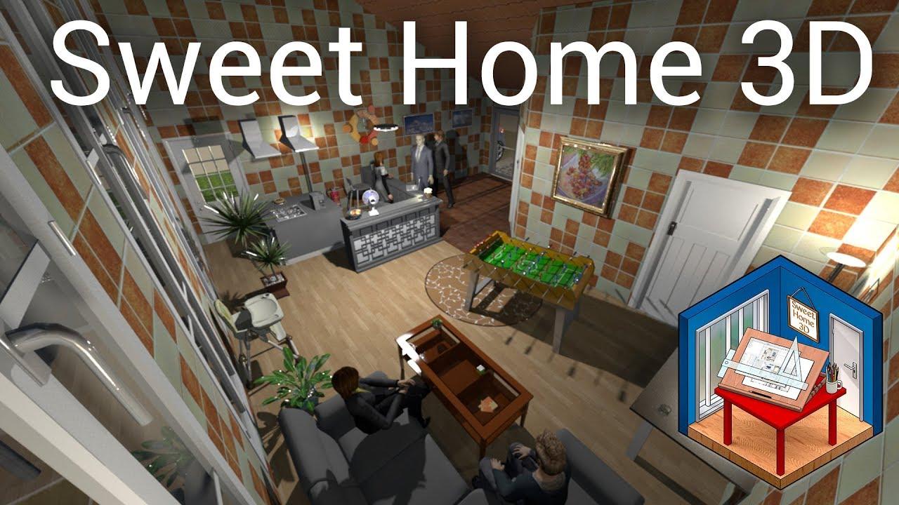 3d visualisierung mit sweet home 3d haus automatisierung for Home design 3d gratis italiano