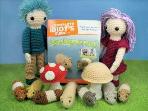 The Complete Idiots Guide to Amigurumi book trailer
