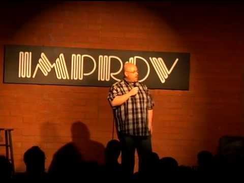 Rick Olson at the Tempe Improv