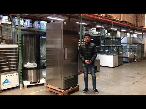 One Door Commercial Reach In Freezer Refrigerator Refrigerated Cooler RESTAURANT EQUIPMENT