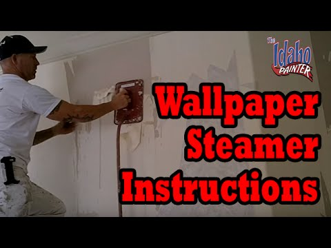 How To Use A Warner Wallpaper Steamer To Remove Wall Paper ...