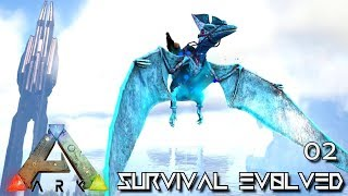 ARK: SURVIVAL EVOLVED - LEGENDARY PTERANODON & GIGA TAME E02 !!! ( PUGNACIA PARADOS )