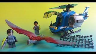 Jurassic World LEGO Toys Pteranodon Capture 75915 Jurassic Dinosaur юрского динозавра 侏罗纪恐龙 ジュラ紀の恐竜