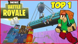 FORTNITE SUR MINECRAFT AVEC TWINNER !! BATTLE ROYAL ! Minecraft ps4 fr