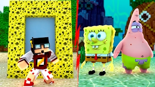 Minecraft: PORTAL MUNDO DO BOB ESPONJA ‹ AMENIC ›