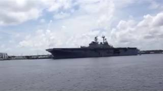 HMS Queen Elizabeth makes first appearance in United States