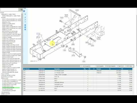 How To Use The Kubota Online Electronic Parts Catalog, EPC