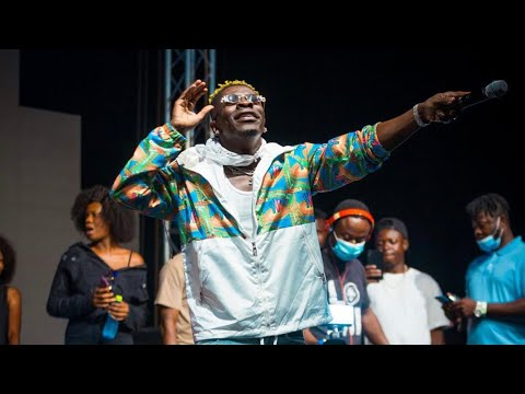 Watch Shatta Wale Surprised Performance At Ghana DJ Awards 2020