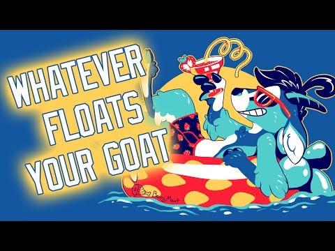 Vix Draws: Whatever Floats Your Goat   Shirt Design