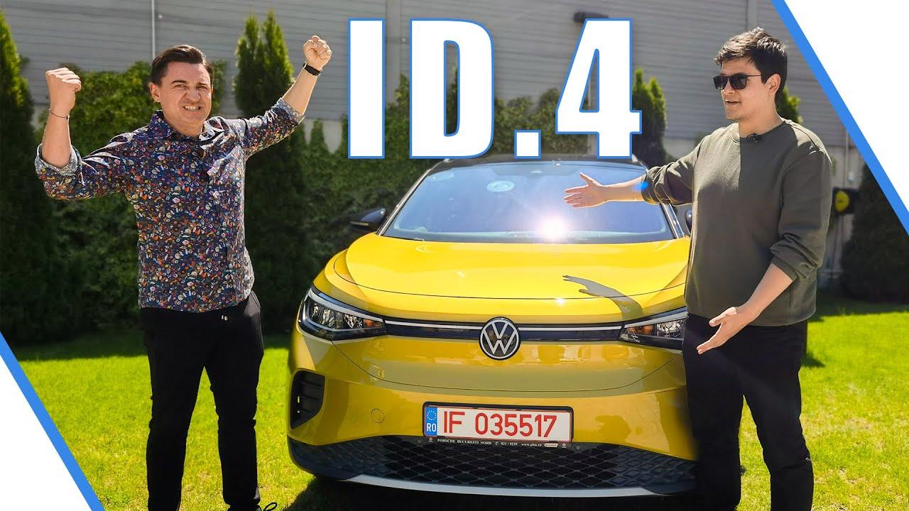Volkswagen ID.4 - Tesla Model Y Killer? - Cavaleria.ro