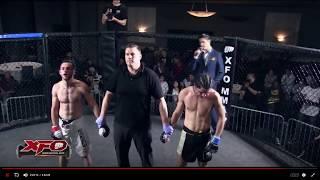 XFO MMA Fight Of The Year 2018 Kirill Nevedomskiy VS Martin Gomez