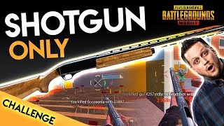 SHOTGUN & PISTOL ONLY CHALLENGE - CAN WE WIN? PUBG Mobile
