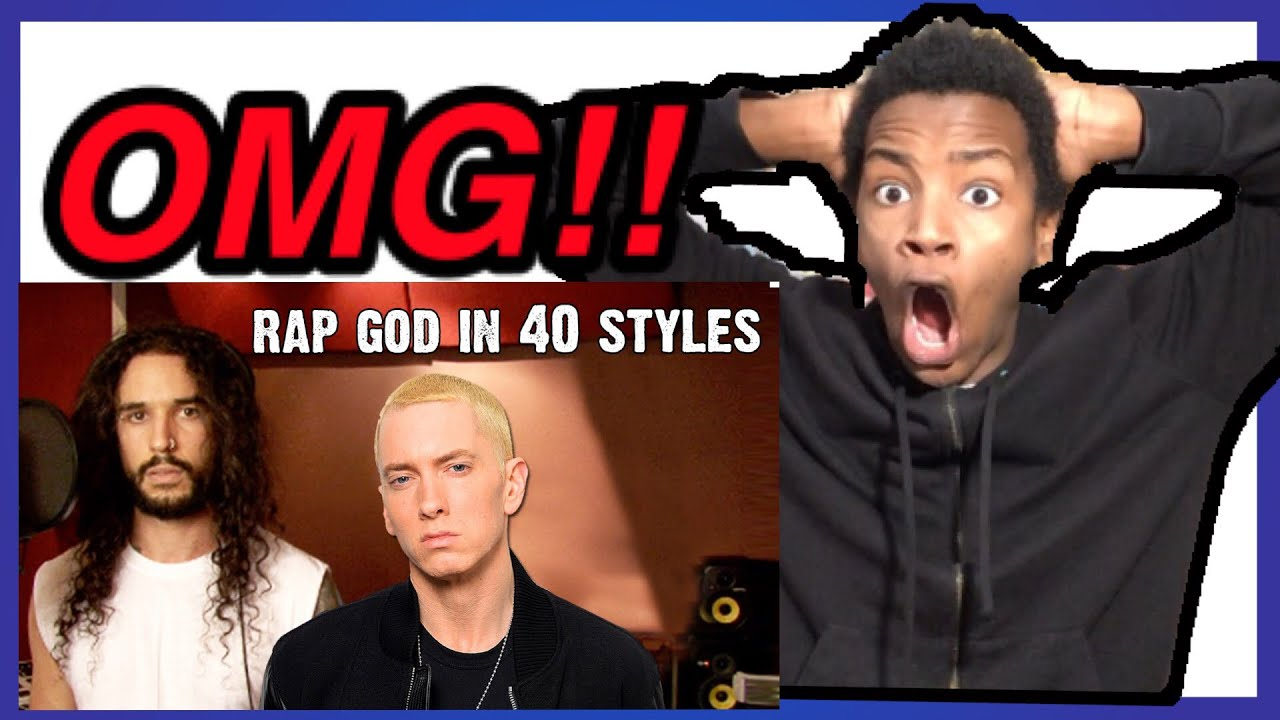 Rap god in 40 styles