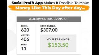 Social Profit App Review | Social Profit App by Billy Darr