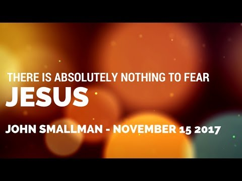 Jesus- November-15-2017 - John Smallman