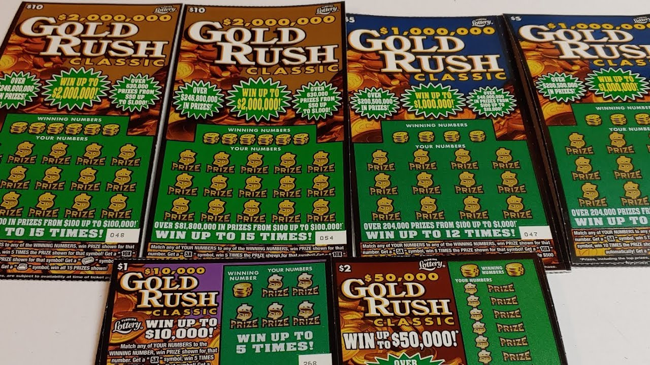 New Gold Rush Classic!!! $60 Session Florida Lottery Tickets!