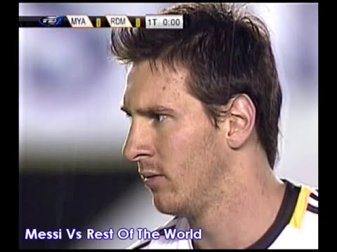 Messi Vs Rest of the World 14.07.2010 Charitable Game, Panama