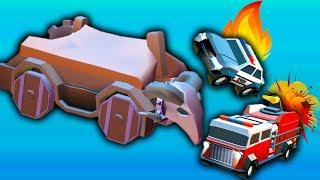 БОЕВЫЕ МАШИНЫ #6 ЭПИЧЕСКАЯ МАШИНКА игры для детей про машинки игра как мультик Crash of Cars