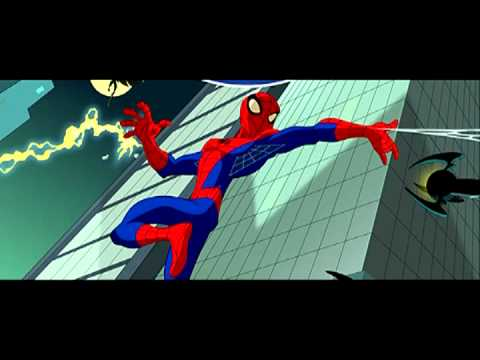 The Spectacular Spider Man Intro in 8-Bit