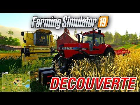 Farming Simulator 19 Gameplay découverte en direct ! (FS19 / LS19 LIVE)