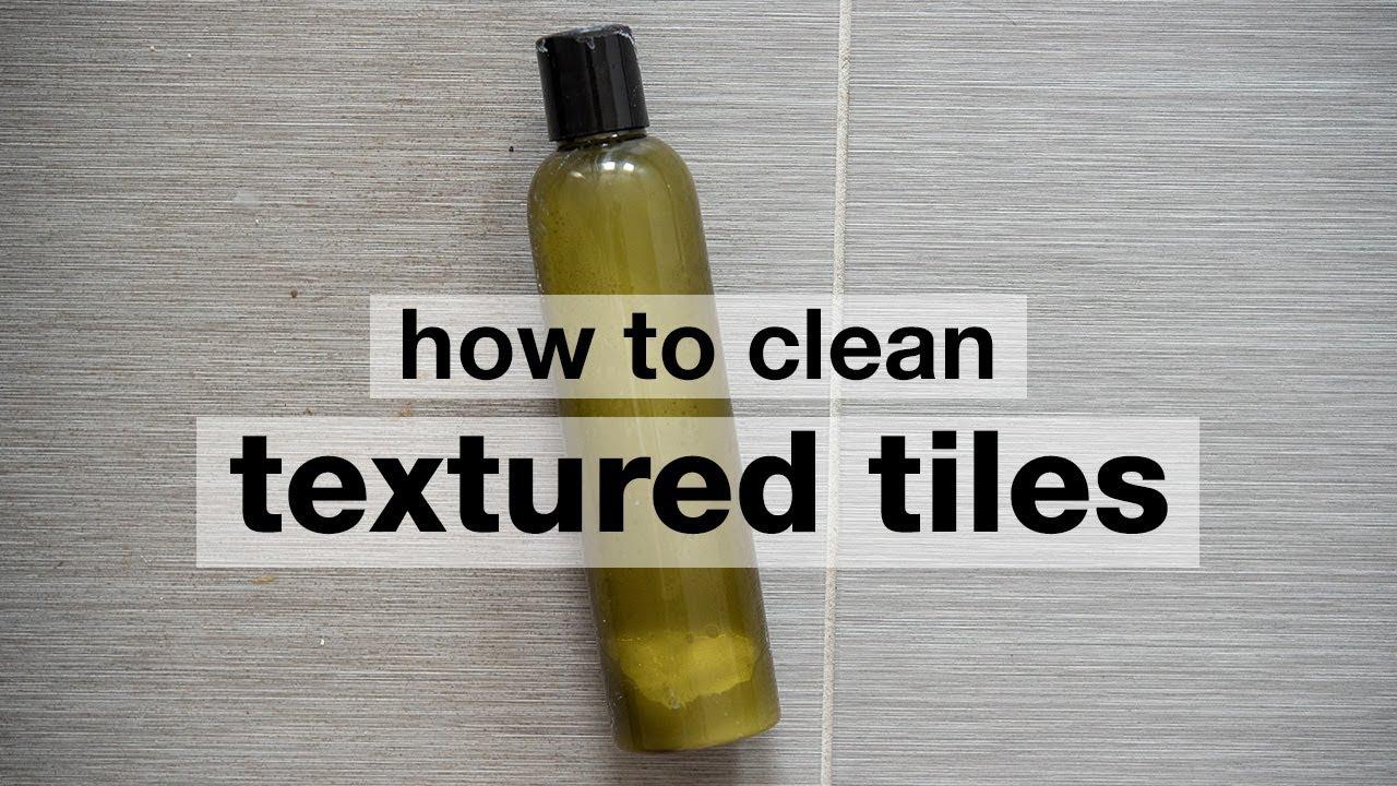 How to Clean Textured Floor Tiles