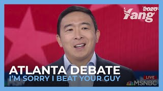 Andrew Yang to Putin - I'm Sorry I Beat Your Guy