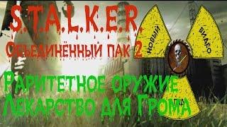 Сталкер ОП 2 Раритетное оружие Лекарство для Грома