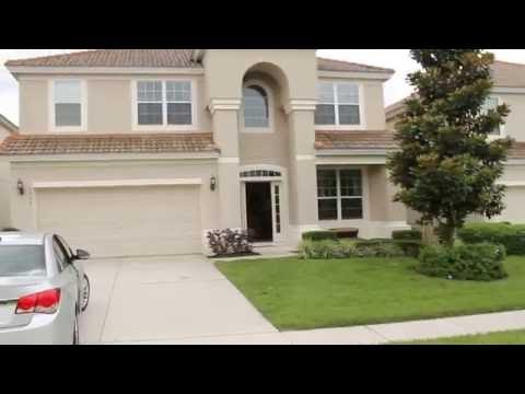 Windsor Hills Resort, Kissimmee, Orlando, Florida vacation home Video April 2015