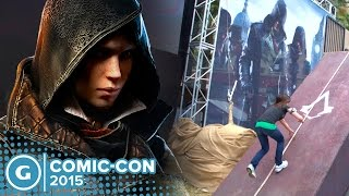 Assassin's Creed Syndicate Evie Fyre Crushes Obstacle Course! - Comic Con 2015